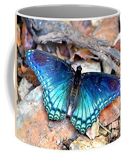 Butterfly Blue  Coffee Mug