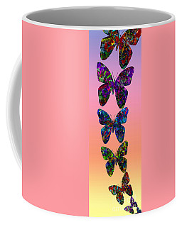 Coffee Mug featuring the photograph Butterfly Collage IIII by Robert Meanor
