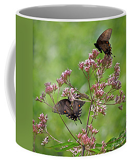 Butterfly Duet  Coffee Mug by Kerri Farley