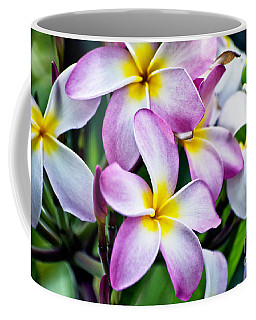 Coffee Mug featuring the photograph Butterfly Flowers by Thomas Woolworth