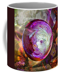 Butterfly Garden Globe Coffee Mug