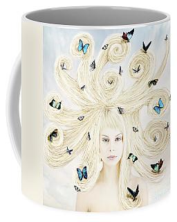 Butterfly Girl Coffee Mug