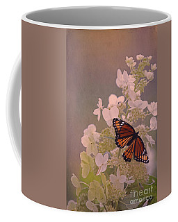 Butterfly Glow Coffee Mug by Elizabeth Winter