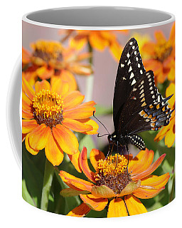 Butterfly In Living Color Coffee Mug
