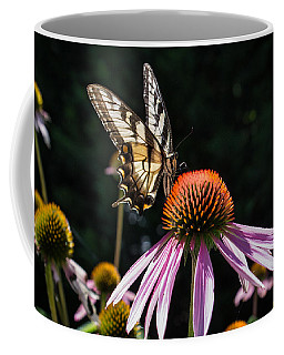 Butterfly In The Garden Coffee Mug