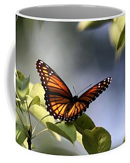 Butterfly -  Soaking Up The Sun Coffee Mug