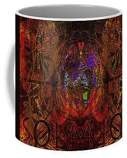 Solar Golden Butterfly Coffee Mug by Joseph Mosley