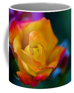 Butterscotch Rose Coffee Mug