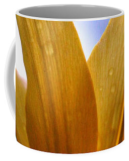 Coffee Mug featuring the photograph Buttersoft Droplets by Deborah  Crew-Johnson