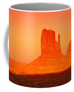 Buttes At Sunrise, The Mittens Coffee Mug