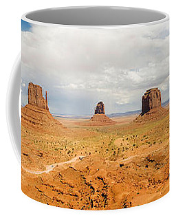 Buttes In A Desert, The Mittens Coffee Mug