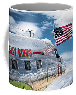 Coffee Mug featuring the photograph Buy Bonds by Steven Bateson