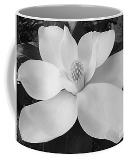 B W Magnolia Blossom Coffee Mug