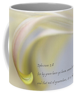 Coffee Mug featuring the photograph By Grace Alone by David and Carol Kelly