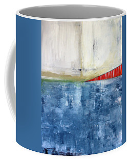 By The Bay- Abstract Art Coffee Mug