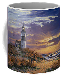 By The Bay Coffee Mug by Kyle Wood
