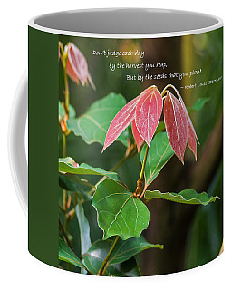 Coffee Mug featuring the photograph By The Seeds That You Plant by Jordan Blackstone