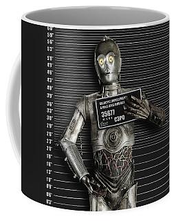 C-3po Mug Shot Coffee Mug