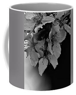 Cab Apple Blossoms In Black N White Coffee Mug