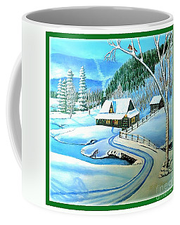 Cabin Fever At Christmastime Coffee Mug