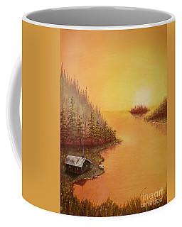Cabin On The Lake Coffee Mug