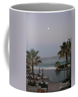 Coffee Mug featuring the photograph Cabo Moonlight by Susan Garren