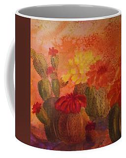 Cactus Garden - Square Format Coffee Mug