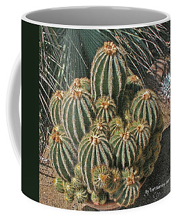 Cactus In The Garden Coffee Mug by Tom Janca