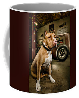Caesar At Millers Chop Shop Coffee Mug
