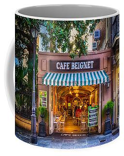 Cafe Beignet Morning Nola Coffee Mug