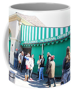 Cafe Du Monde Coffee Mug by Bev Conover