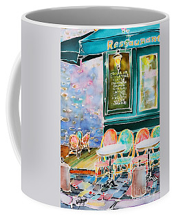 Cafe In Montmartre Coffee Mug