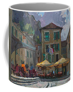 Cafe In Old City Coffee Mug
