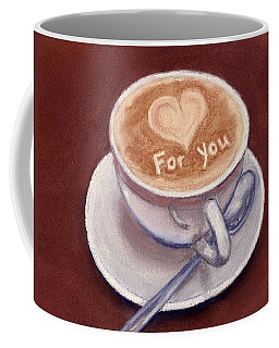 Caffe Latte Coffee Mug by Anastasiya Malakhova