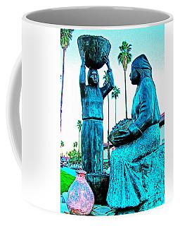 Cahuilla Women Sculpture In Palm Springs-california  Coffee Mug