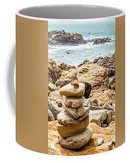 Cairn Coffee Mug by Suzanne Luft