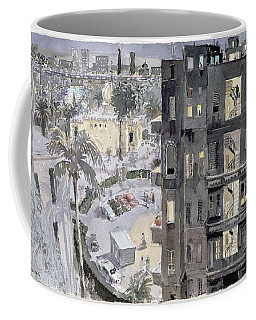 Cairo Night, 1996 Wc On Paper Coffee Mug