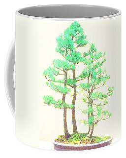 Caitlin Elm Bonsai Tree Coffee Mug by Marian Cates