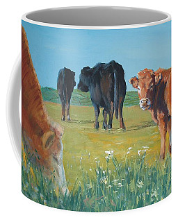 Calf Painting Coffee Mug
