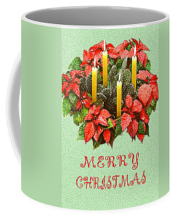California Cactus Christmas Coffee Mug