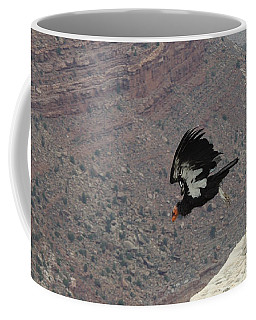 California Condor Taking Flight Coffee Mug
