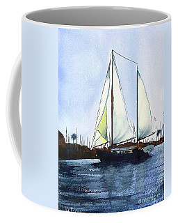 Coffee Mug featuring the painting California Dreamin by Kip DeVore