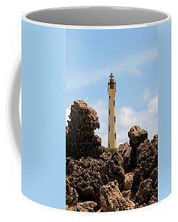 California Lighthouse Aruba Coffee Mug