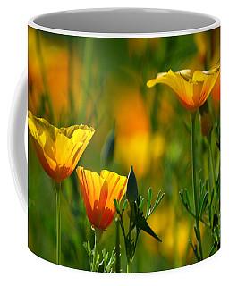 California Poppies Coffee Mug by Deb Halloran