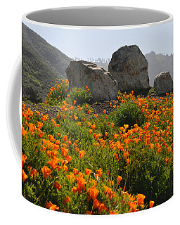 California Poppies Coffee Mug by Lynn Bauer