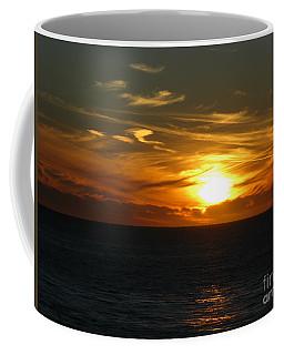 California Winter Sunset Coffee Mug