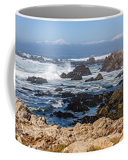 Coffee Mug featuring the photograph Californian Coastline by Susan Leonard