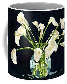 Calla Lilies In Vase Coffee Mug