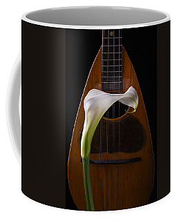 Calla Lily And Mandolin Coffee Mug
