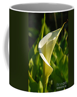 Coffee Mug featuring the photograph Calla Lily by Mary Carol Story
